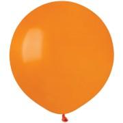 10 Ballons Orange Mat Ø48cm
