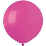 10 Ballons Fuchsia Mat Ø48cm