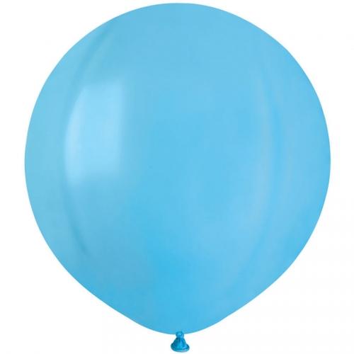 10 Ballons Bleu lagon Mat Ø48cm