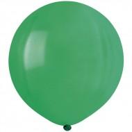 10 Ballons Vert Mat Ø48cm