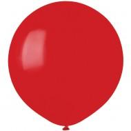 10 Ballons Rouge Mat Ø48cm
