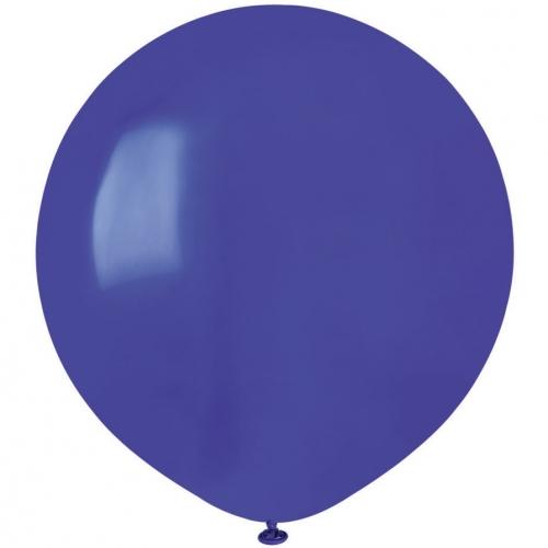 10 Ballons Bleu roi Mat Ø48cm