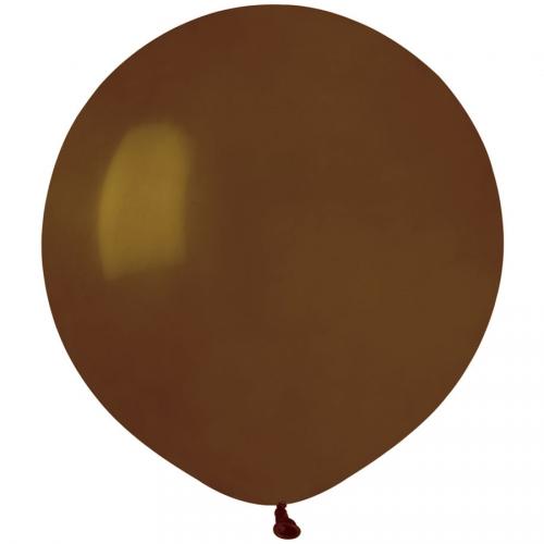 10 Ballons Marron Mat Ø48cm