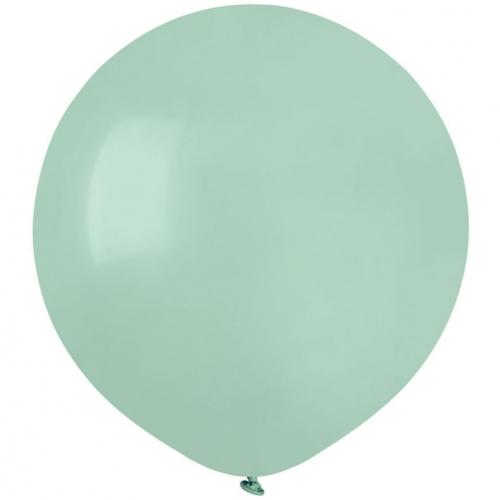 10 Ballons Vert eau Mat Ø48cm