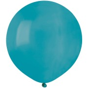 10 Ballons Turquoise Mat Ø48cm