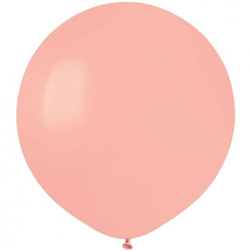 10 Ballons Rose pastel Mat Ø48cm