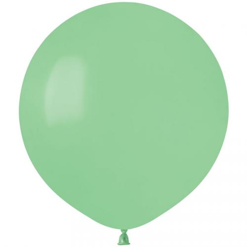 10 Ballons Vert menthe Mat Ø48cm