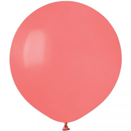 10 Ballons Corail Mat Ø48cm