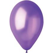 10 Ballons Violet Nacré Ø30cm