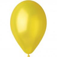 10 Ballons Jaune Nacré Ø30cm