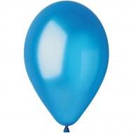 10 Ballons Bleu Nacré Ø30cm