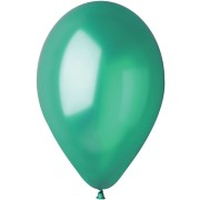 10 Ballons Vert sapin Nacré Ø30cm