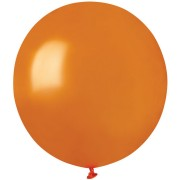 10 Ballons Orange Nacré Ø48cm