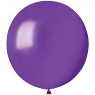 10 Ballons Violet Nacré Ø48cm