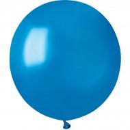 10 Ballons Bleu Nacré Ø48cm