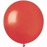 10 Ballons Rouge Nacré Ø48cm