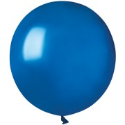 10 Ballons Bleu roi Nacré Ø48cm