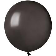 10 Ballons Noir Nacré Ø48cm
