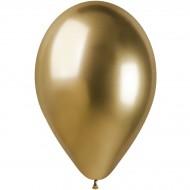 5 Ballons Or Chromé Ø33cm