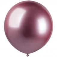 3 Ballons Rose Chromé Ø48cm