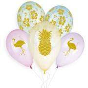 5 Ballons Tropical Ø33cm