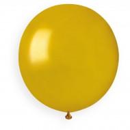 10 Ballons Or Nacré Ø48cm