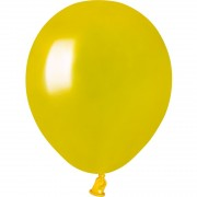 50 Ballons Jaune Nacré Ø13cm