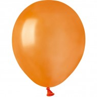 50 Ballons Orange Nacré Ø13cm