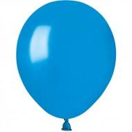 50 Ballons Bleu Nacré Ø13cm