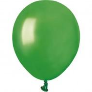 50 Ballons Vert Nacré Ø13cm