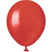 50 Ballons Rouge Nacré Ø13cm