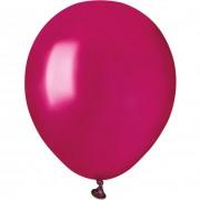 50 Ballons Bordeaux Nacré Ø13cm