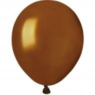50 Ballons Marron Nacré Ø13cm