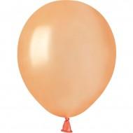 50 Ballons Pêche Nacré Ø13cm