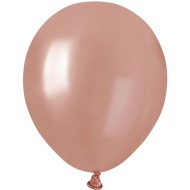 50 Ballons Rose Gold Nacré Ø13cm