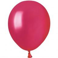 50 Ballons Rouge berry Nacré Ø13cm