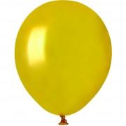 50 Ballons Or Nacré Ø13cm