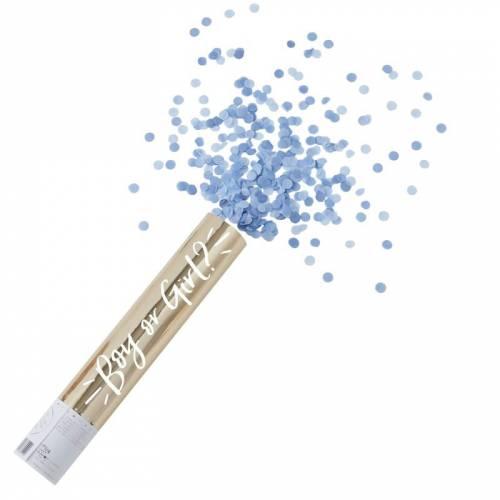Canon à Confettis Bleus Boy or Girl
