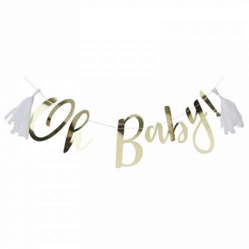 Guirlande Gold - Oh Baby! (1,5 m)