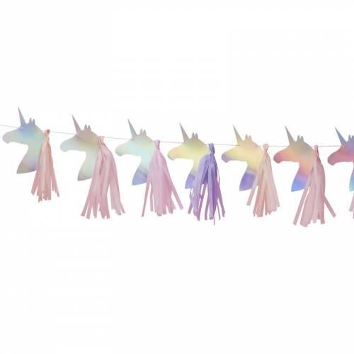 Guirlande Tassel Licorne Irisée