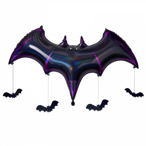 Ballon Chauve-Souris - Purple Halloween