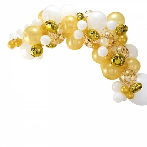 Kit Arche de 70 Ballons - Gold