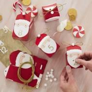 Calendrier de l'Avent Père Noël - 24 Boîtes