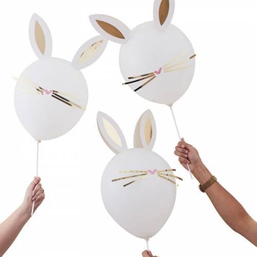 DIY - 5 Ballons Lapin - Marguerite
