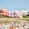 Kit Arche de 60 Ballons - Nude/Bleu/Blanc images:#1