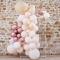 Kit Arche Pampas de 70 Ballons Métalliques - Rose Gold Métallique/Pêche/Caramel images:#1