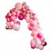 Kit Arche Luxe de 200 Ballons - Rose Gold Métallique/Rose. n°1