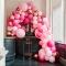 Kit Arche Luxe de 200 Ballons - Rose Gold Métallique/Rose images:#1