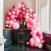 Kit Arche Luxe de 200 Ballons - Rose Gold Métallique/Rose. n°2