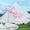Kit Arche Luxe de 200 Ballons Pastel - Rose/Parme images:#1